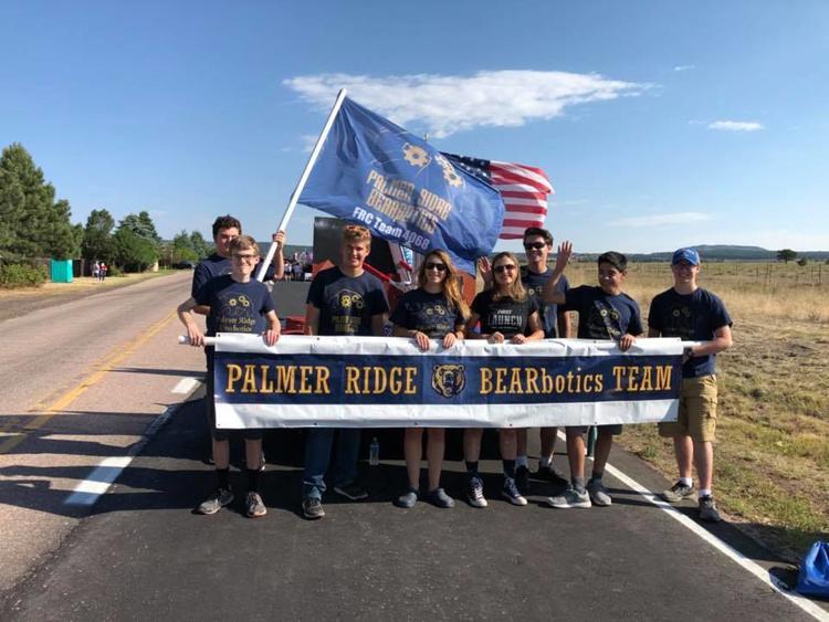 Palmer Ridge High School robotics team