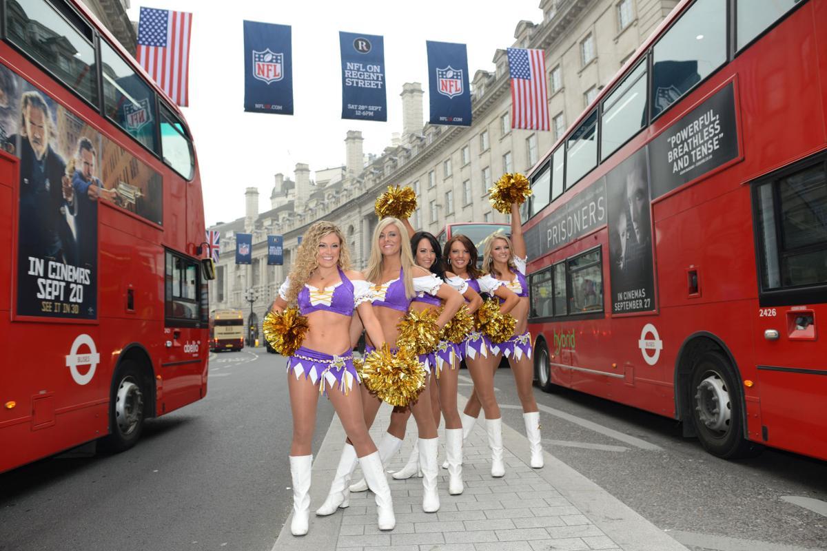 Britain Vikings Football