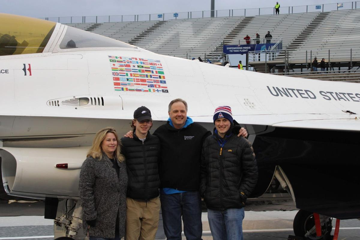 Penrose-St. Francis/Centura Health supports Air Force athletics at recent matches