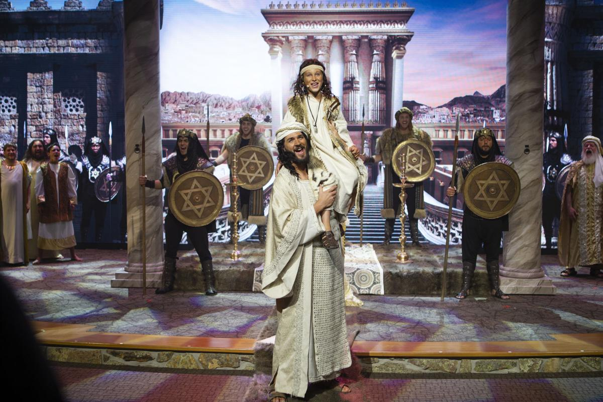 Biblical story of David comes to life in spectacular fashion at Charis Bible College