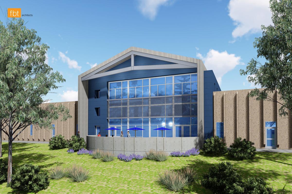 James Irwin Charter School new library