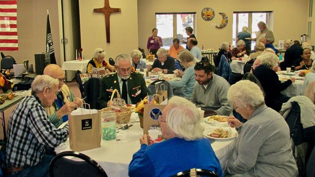 Black Forest AARP Chapter 1100 members at November 2018 meeting