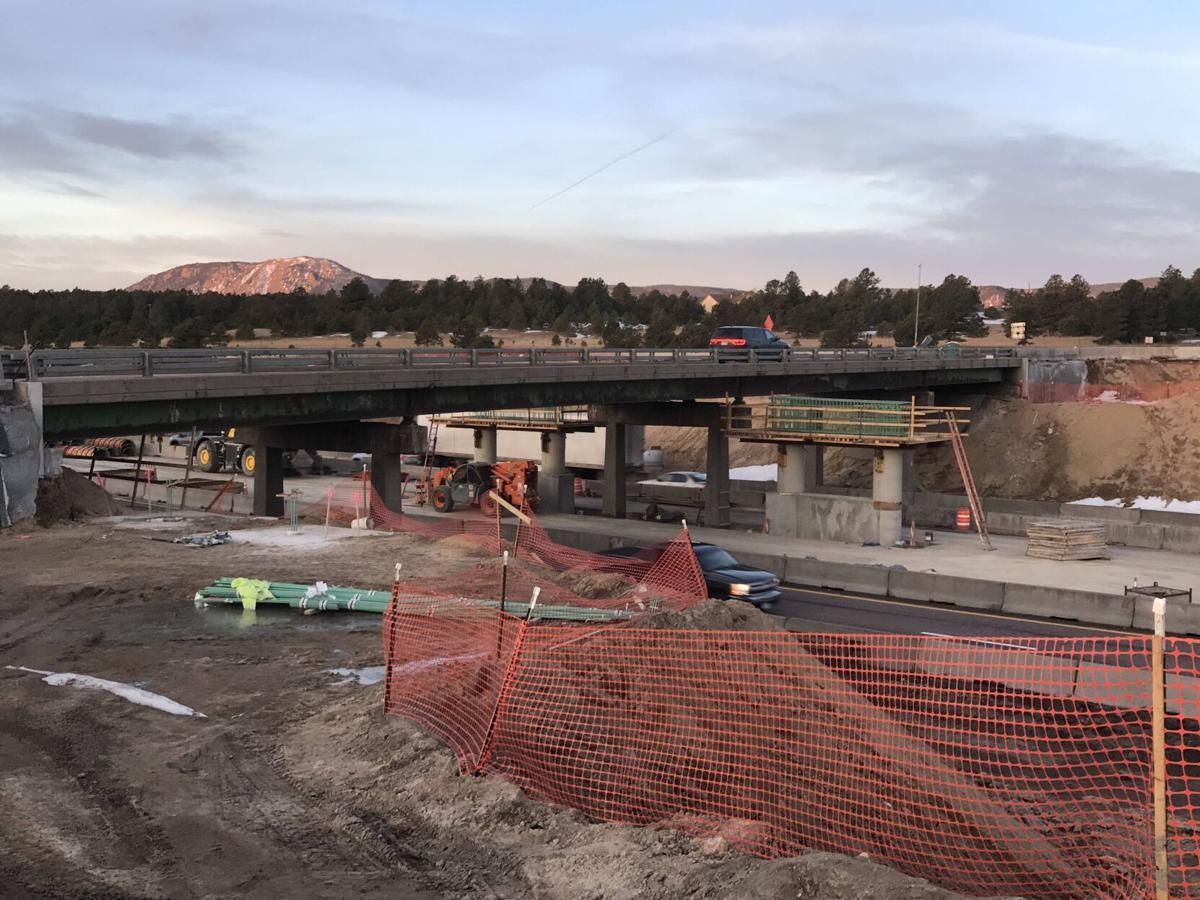 County Line Bridge Under Construction