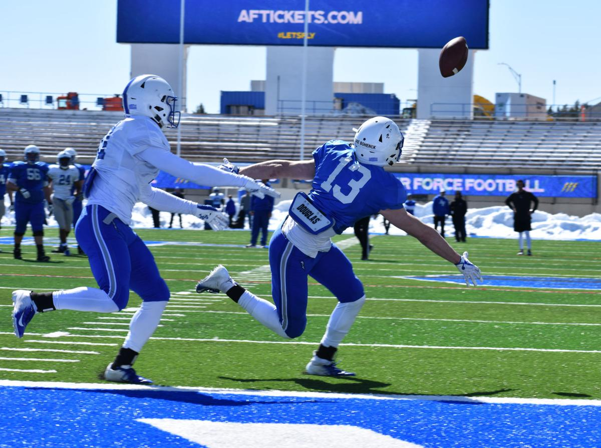 Air Force football spring scrimmage: Highlights from ...