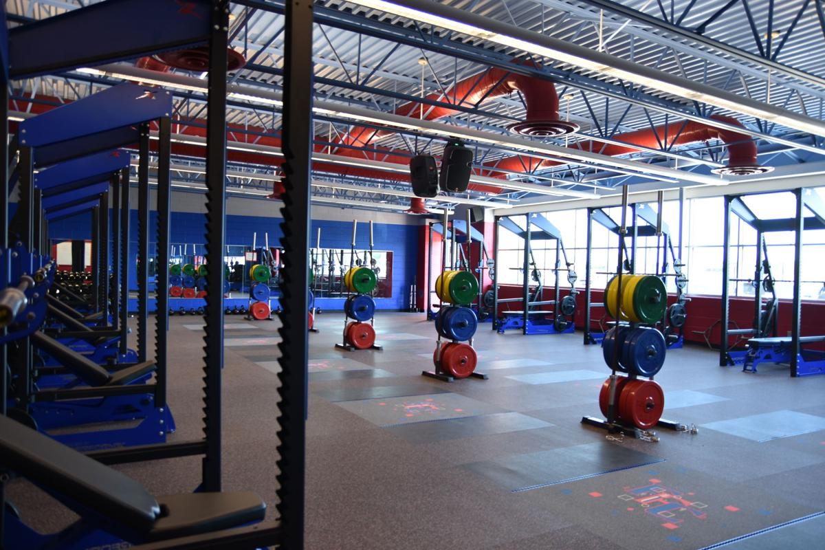 Fountain-Fort Carson weight room