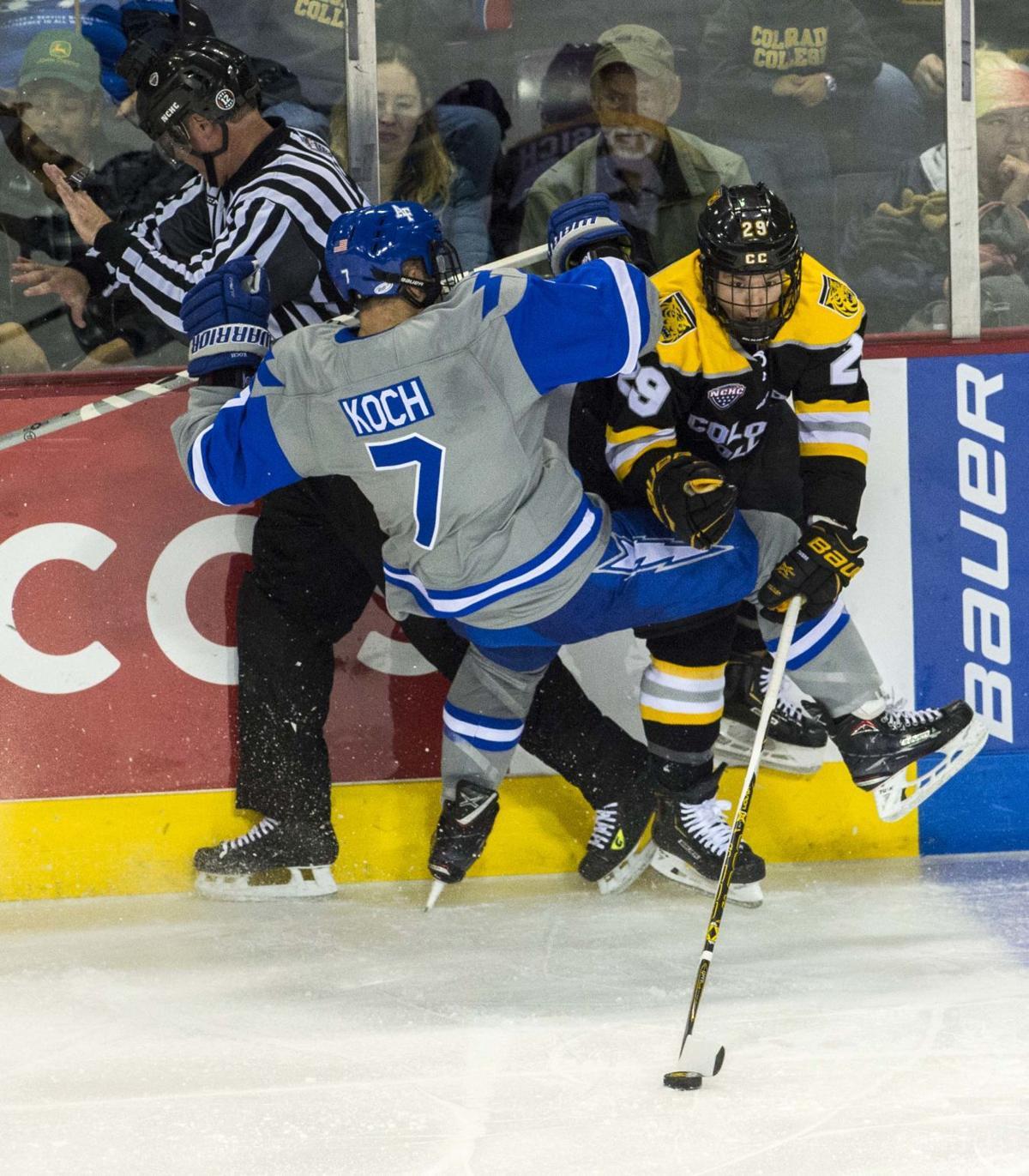 AFA hockey Matt Koch