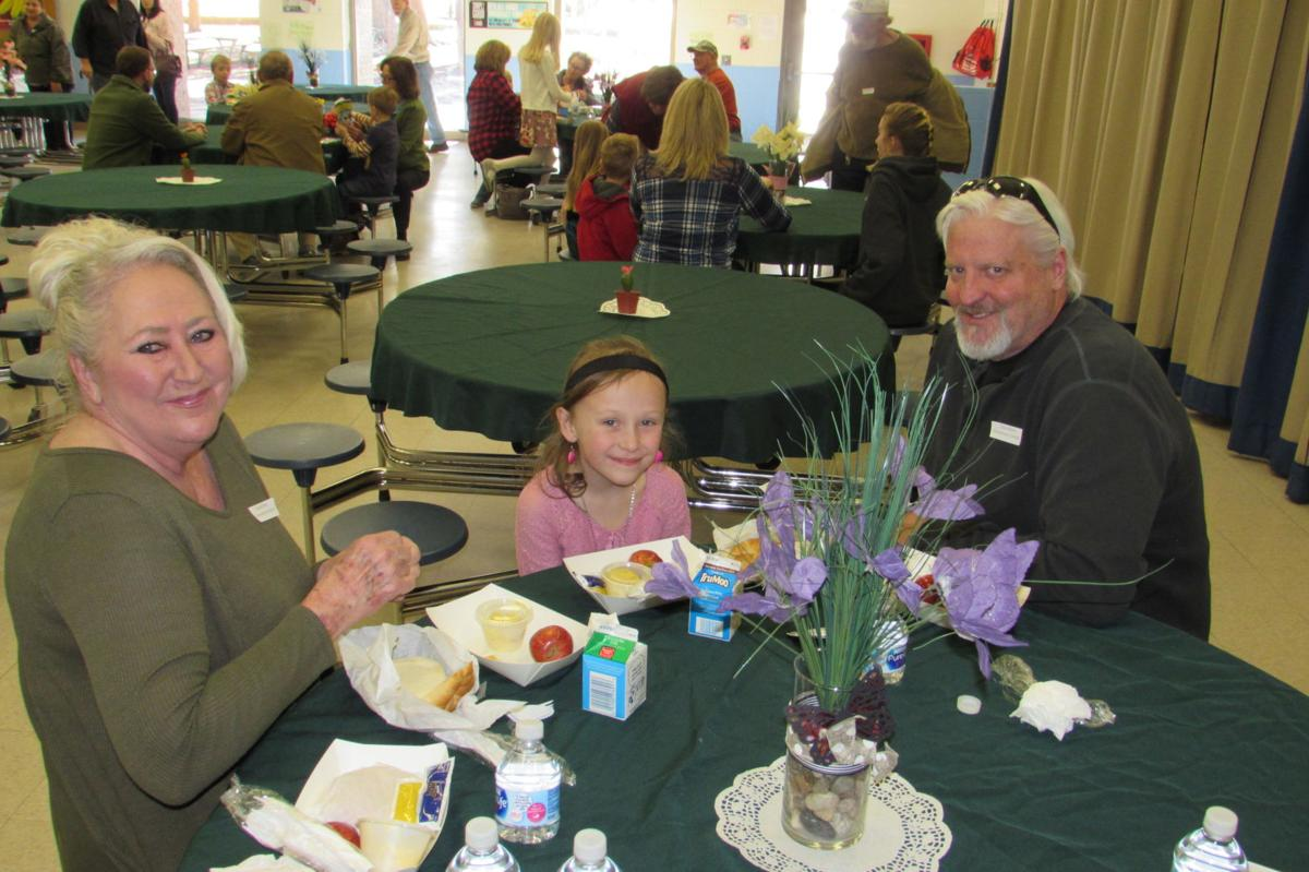 Grandparents Day at Columbine Elementary