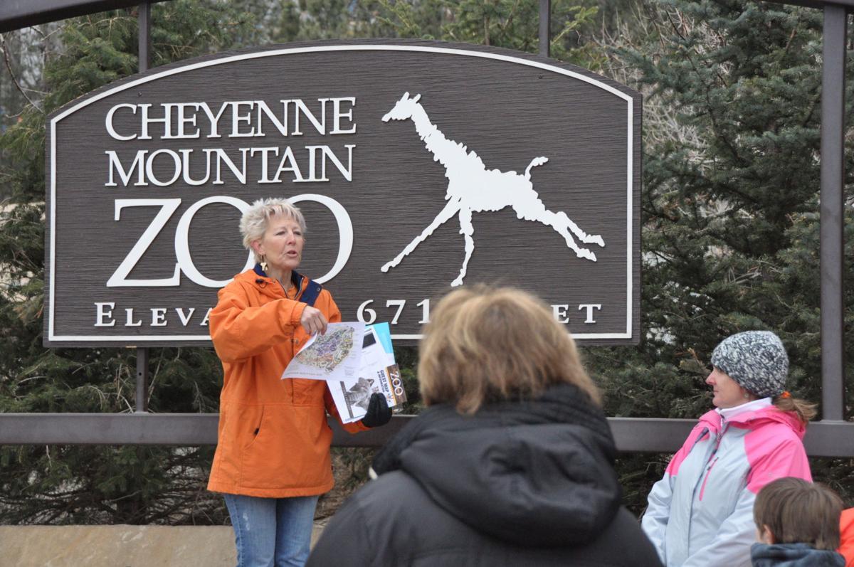 Cheyenne Mountain Junior High School teacher Laura Koselak
