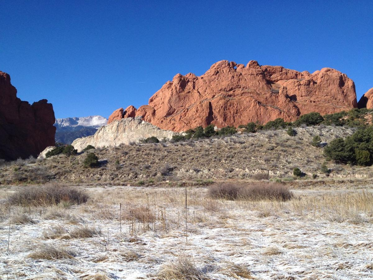 White Rock, Kissing Camels and Pikes Peak (copy)