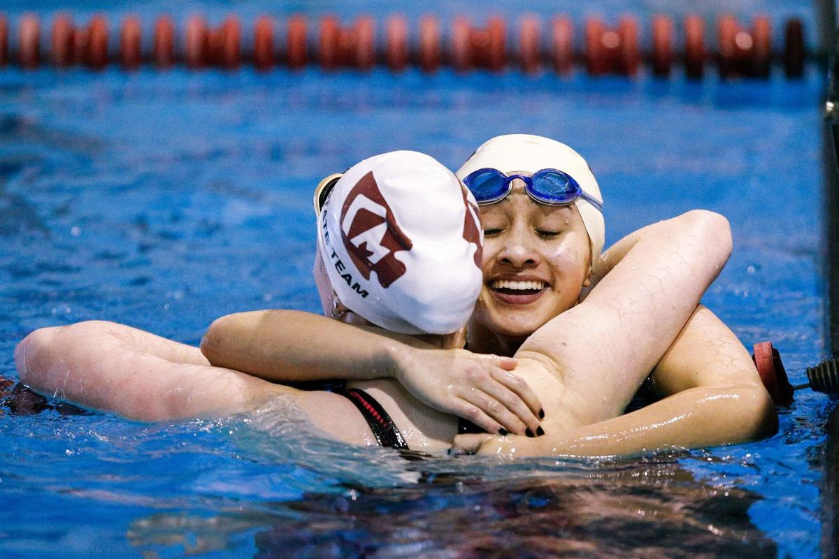 Lady Indians celebrate records at PPAC swimming championship