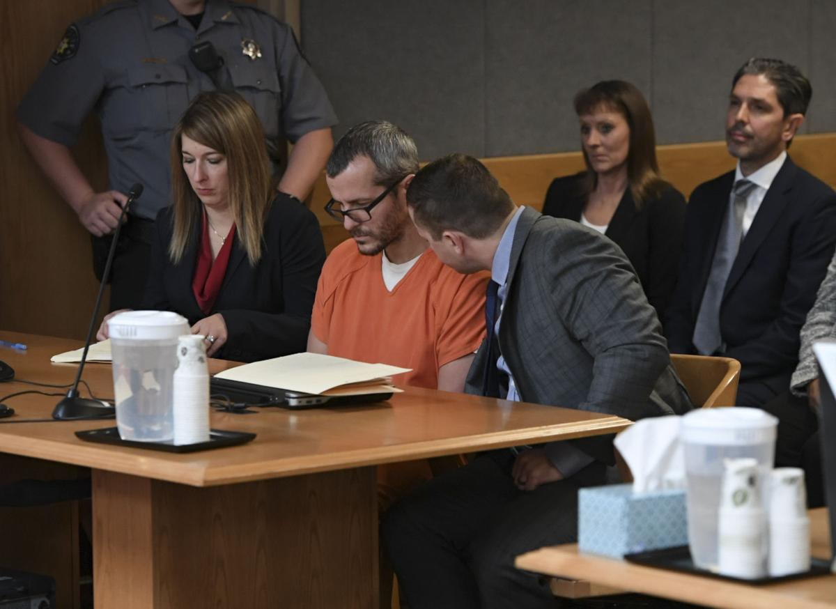 Prison is too good for you:' Christopher Watts sentenced in