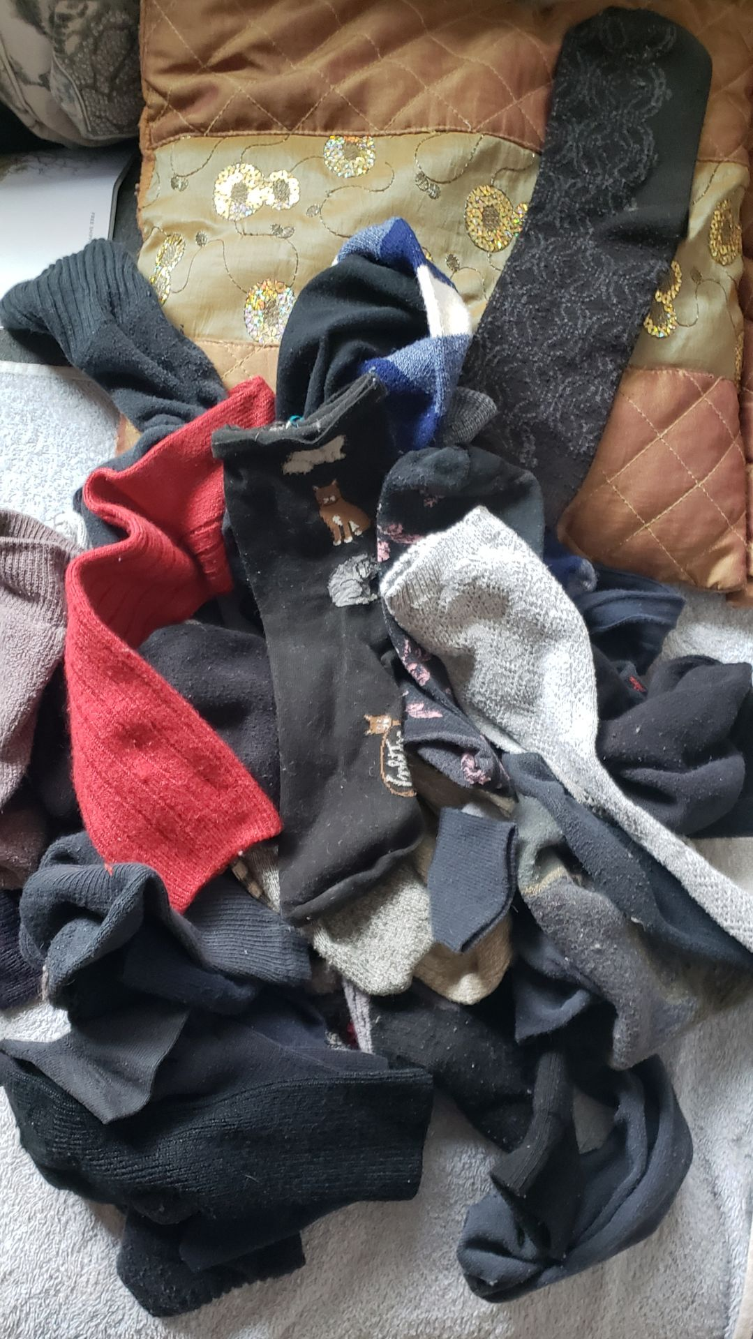 A woman's complicated relationship with (half of) her socks | Slice of Life