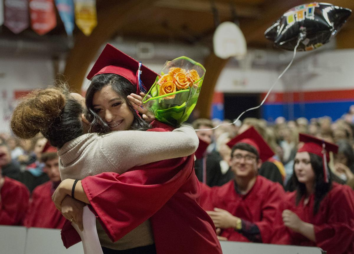 Highlights from the Patriot Learning Center graduation ceremony for the class of 2015 Thursday, May, 21, 2015, in Falcon, Colo. (The Gazette, Christian Murdock)
