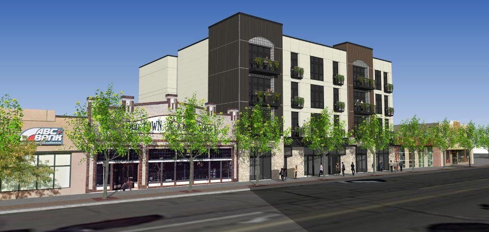 Another Urban Lifestyle Apartment Project Planned For Downtown Colorado Springs