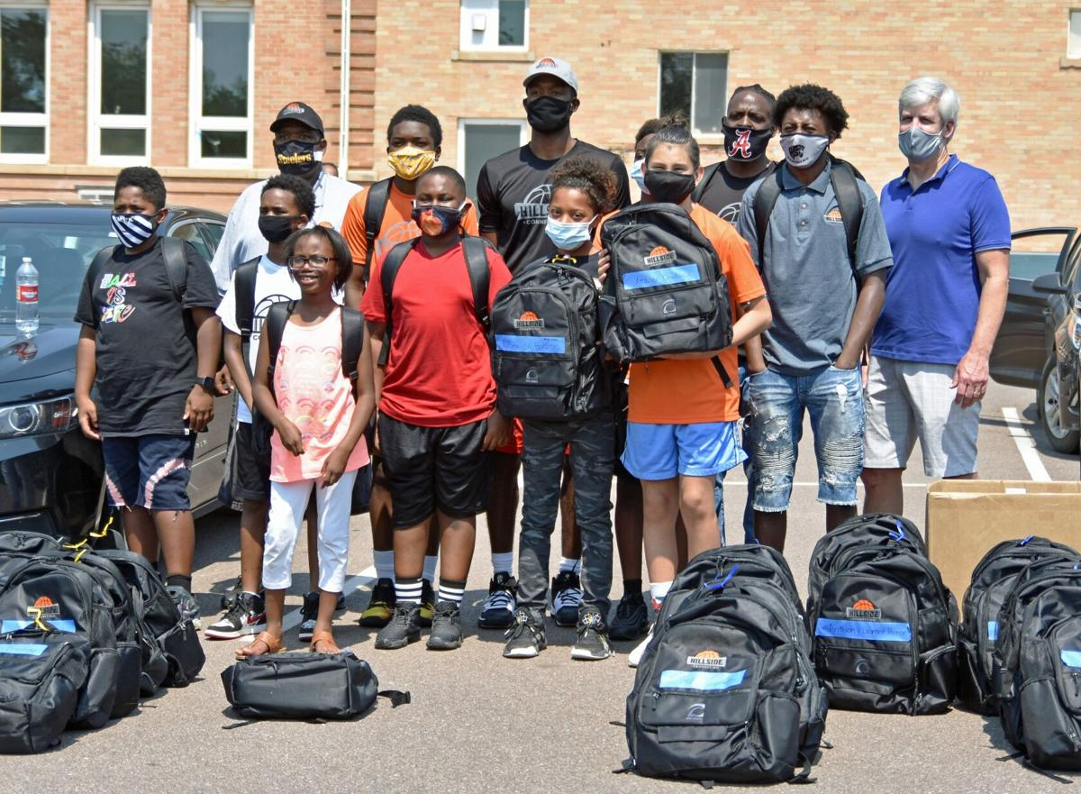 Giving back with backpacks