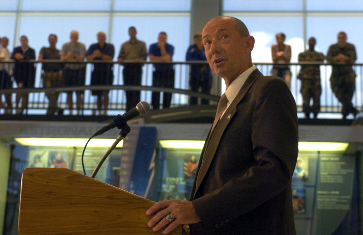 A top Air Force Academy official announces January retirement