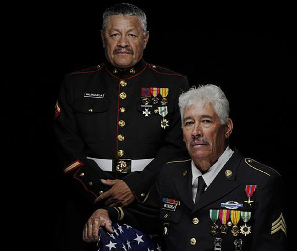 Manuel Valenzuela, left, and his brother Valente Valenzuela. Contributed photo