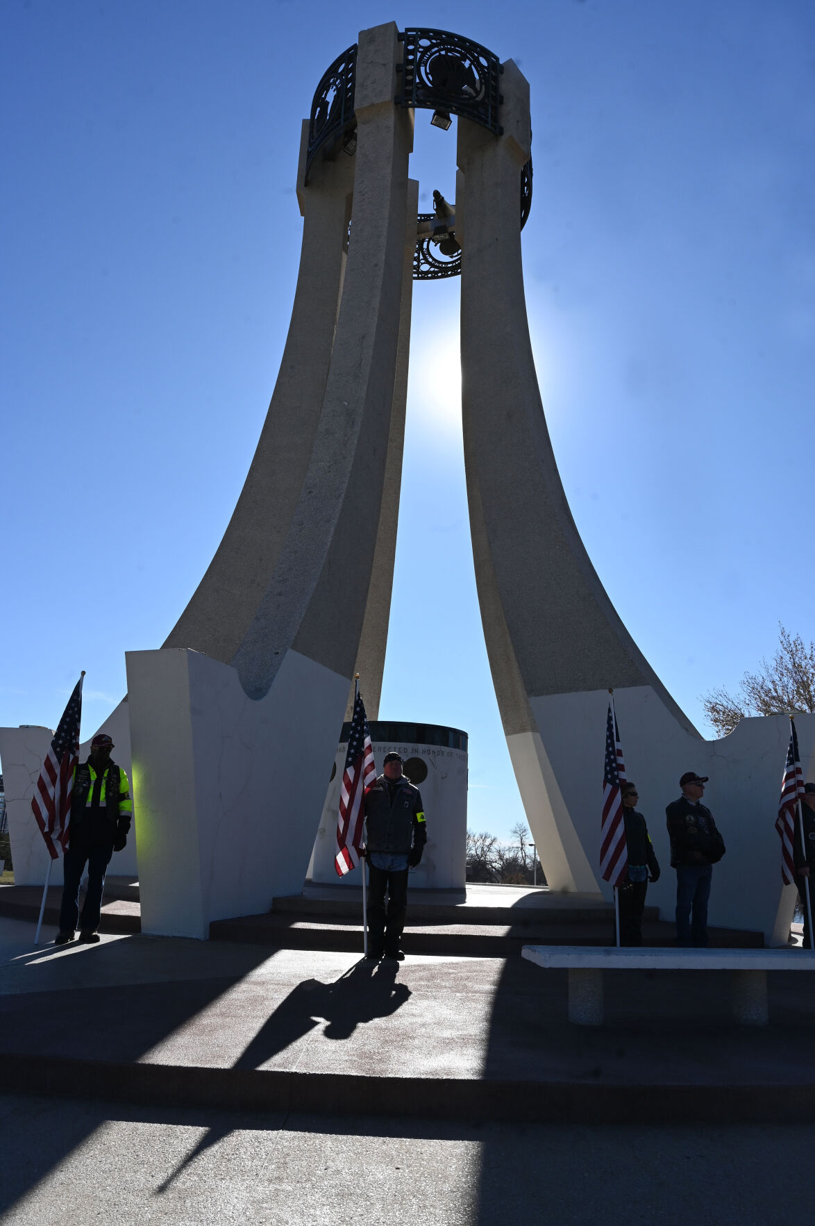 Veterans honored, saluted