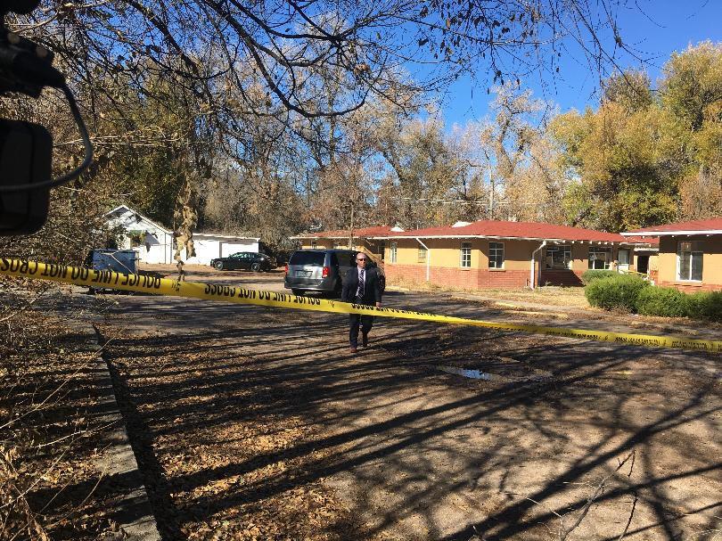 Metzler place crime scene