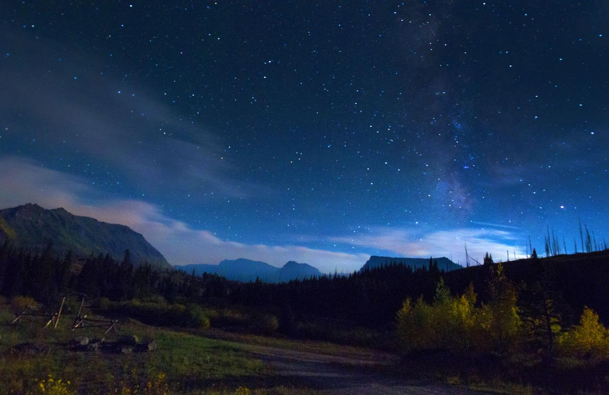 The stars shine bright in the dark skies Wednesday, Sept. 7, 2016, at Trappers Lake Lodge in northwest Colorado. (The Gazette, Christian Murdock)