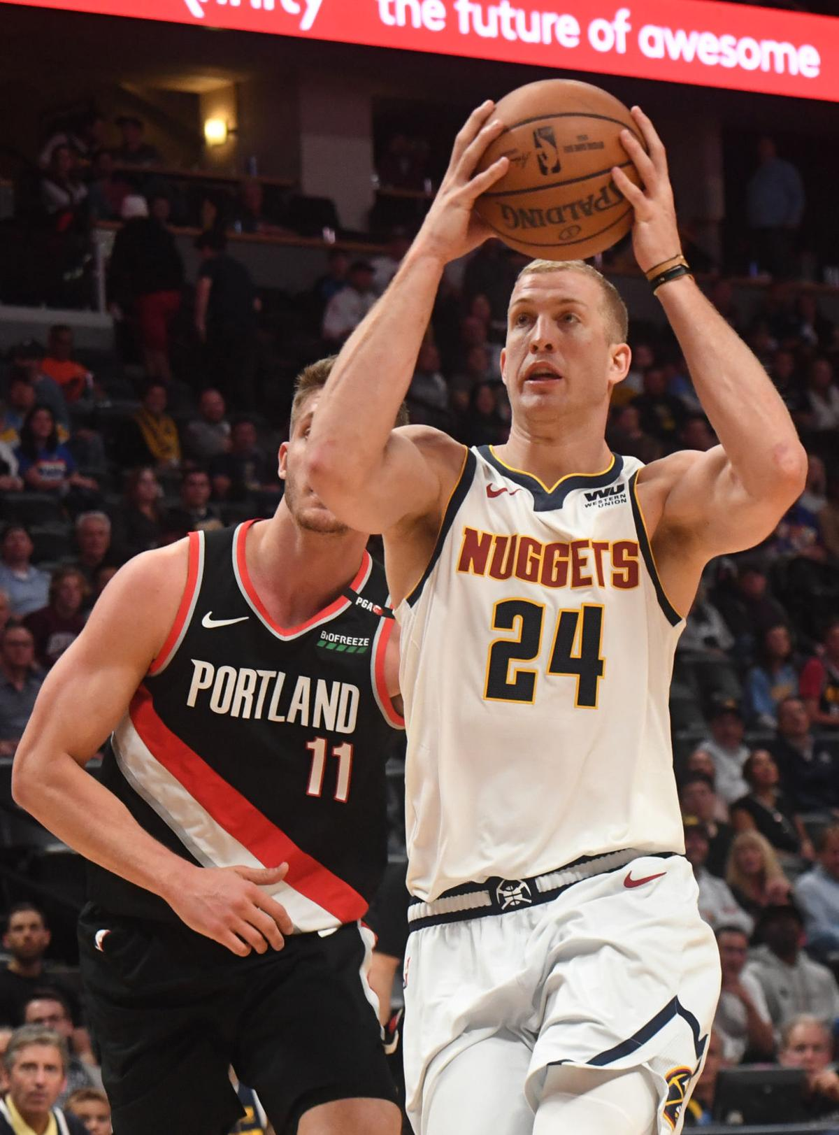 Nuggets Blazers Game 5