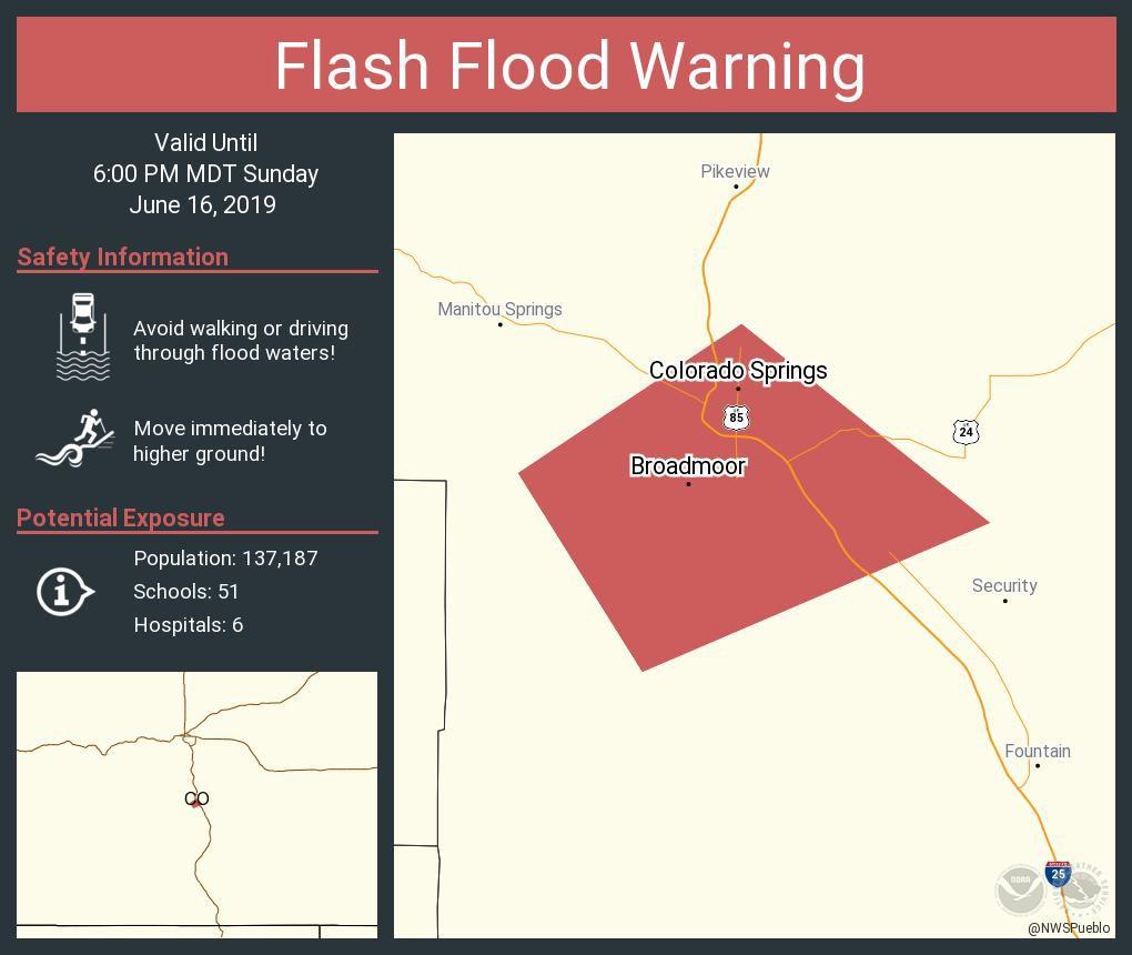 Flash Flood Warning - 6.16.19