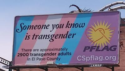 Transgender billboard