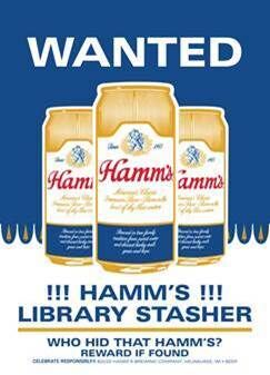 Wanted: Hamm's Library Stasher