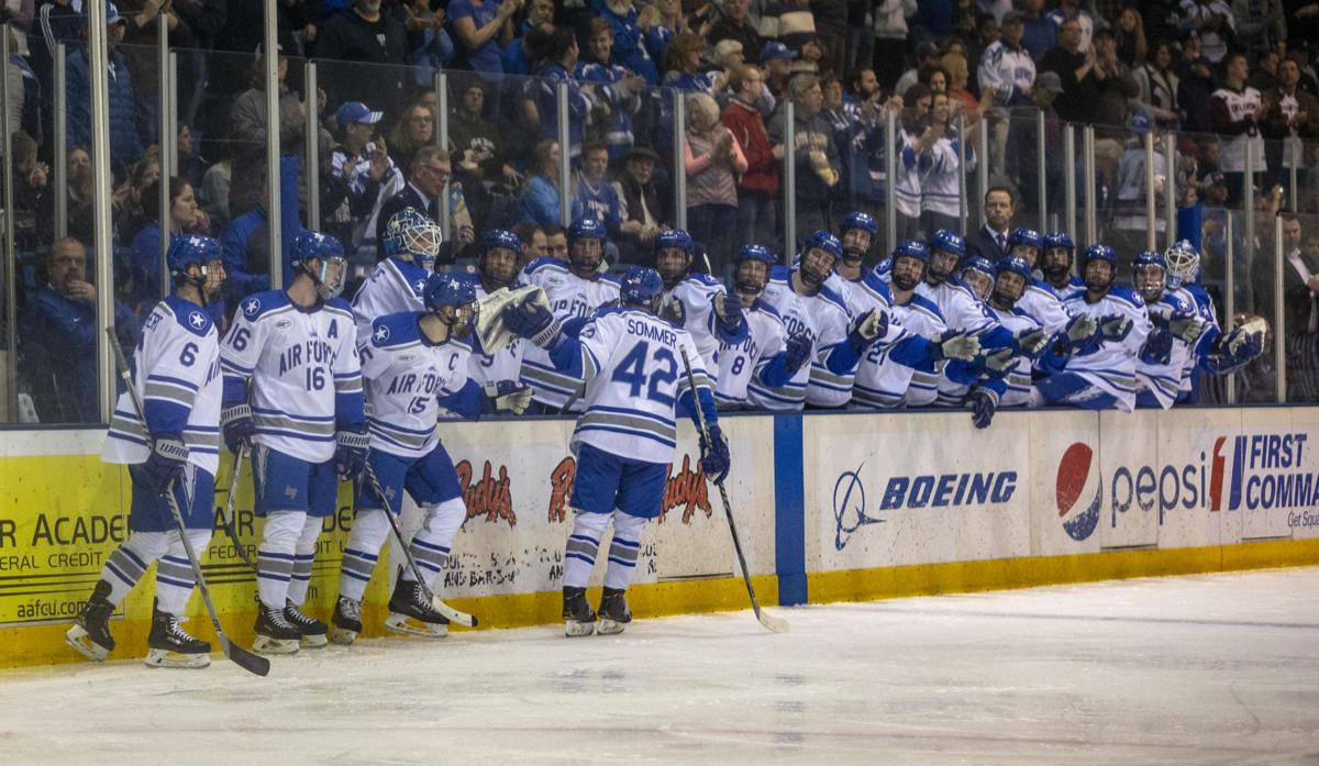 Sightseeing Over Air Force Hockey Goes All In For Ice Vegas