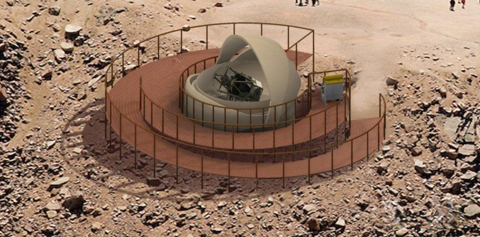 Details for proposed Pikes Peak Observatory come into focus