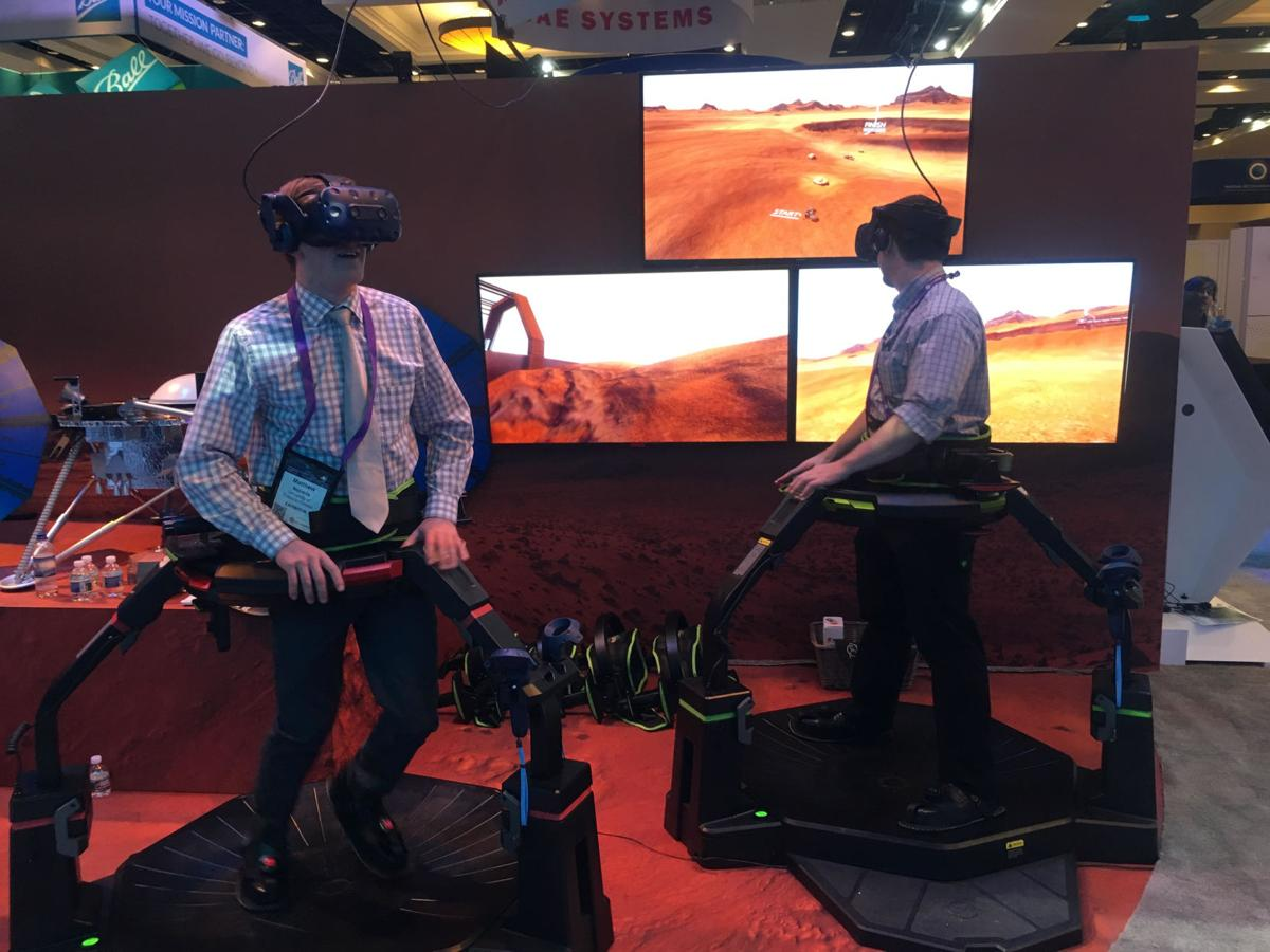 2019 Space Symposium virtual reality Lockheed Martin