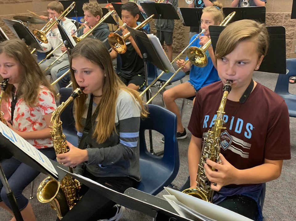 Music to the ears: LPSD band students sharpen music skills at summer camp