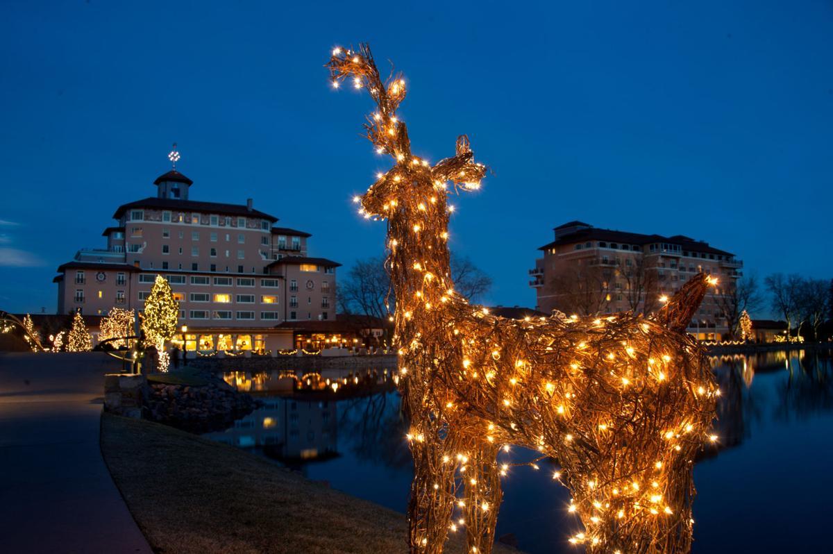 Broadmoor lights ignite holiday spirit