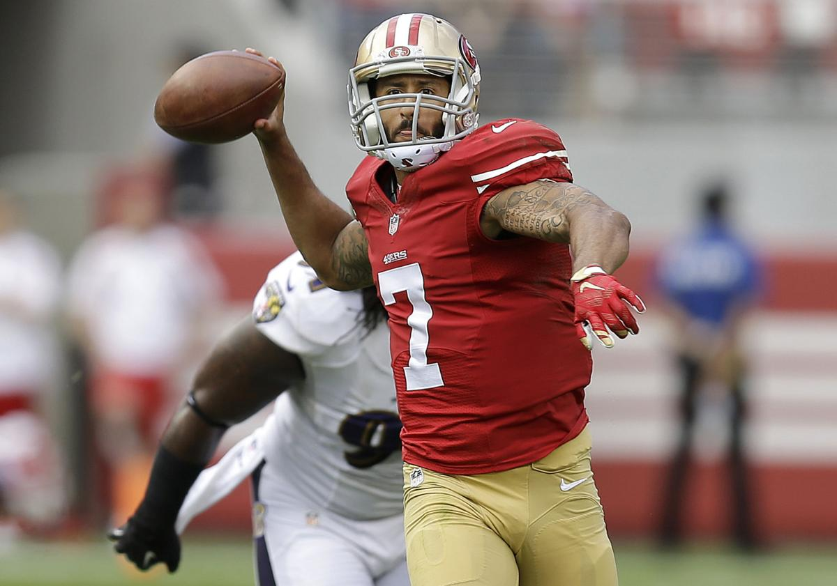 Colin Kaepernick, Courtney Upshaw
