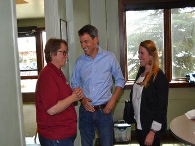Andrew Romanoff, Democratic candidate for the U.S. Senate