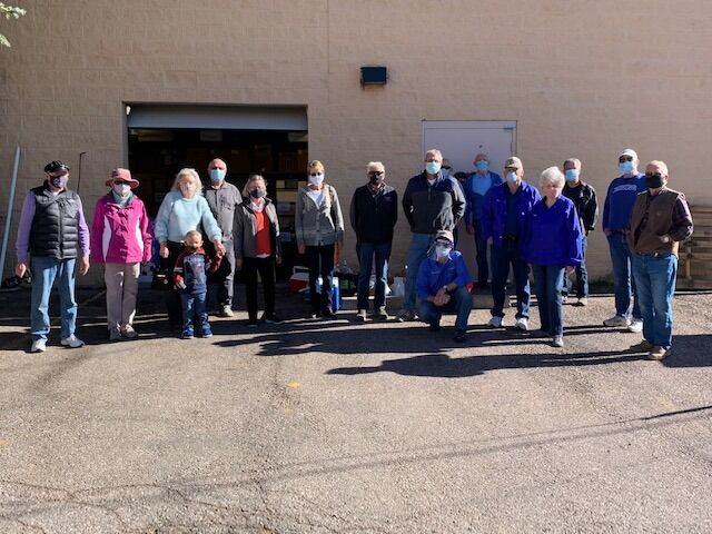 Giving thanks with donations to Tri-Lakes Cares