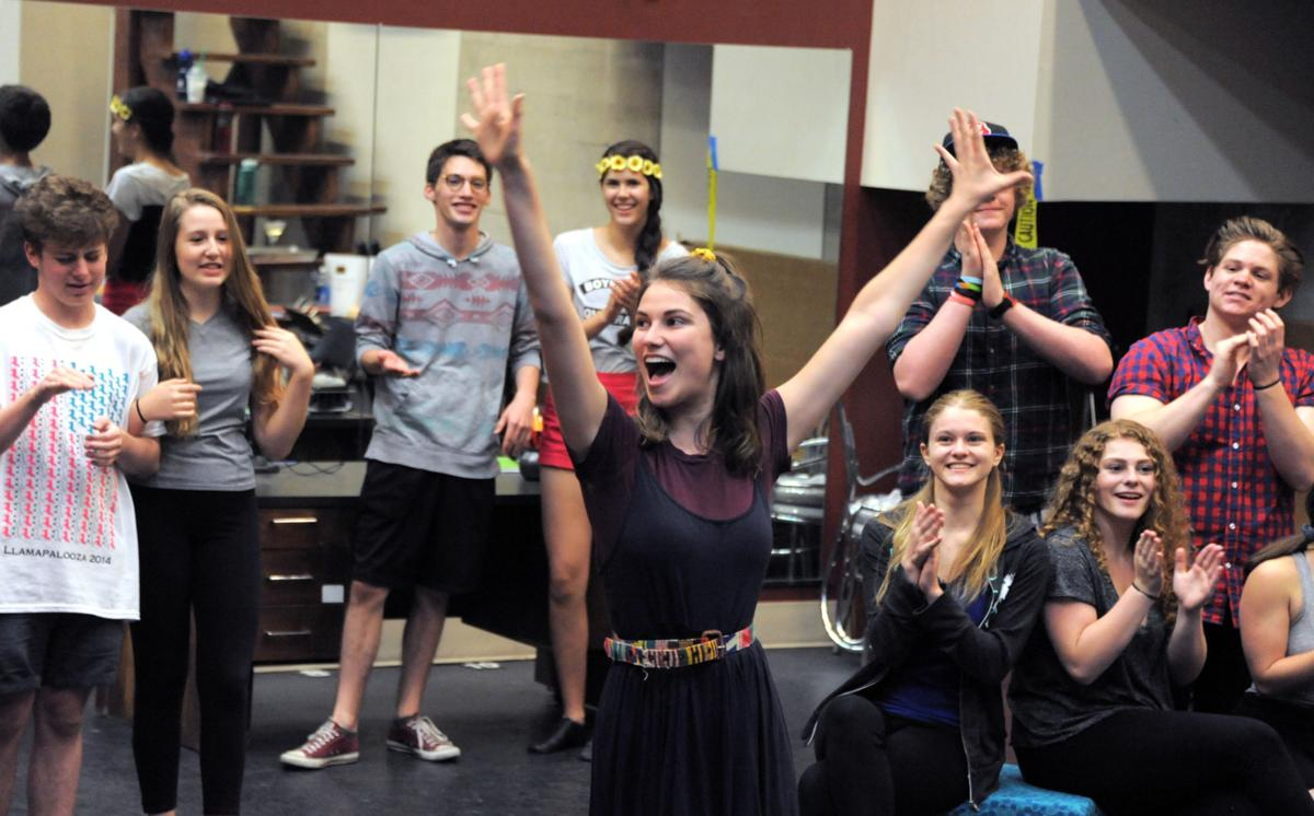 Youth performers earn theater chops for 'Thoroughly Modern Millie'