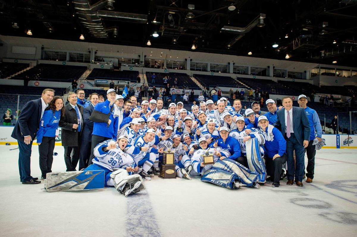 Air Force hockey beats Robert Morris to win conference title, clinch NCAA spot