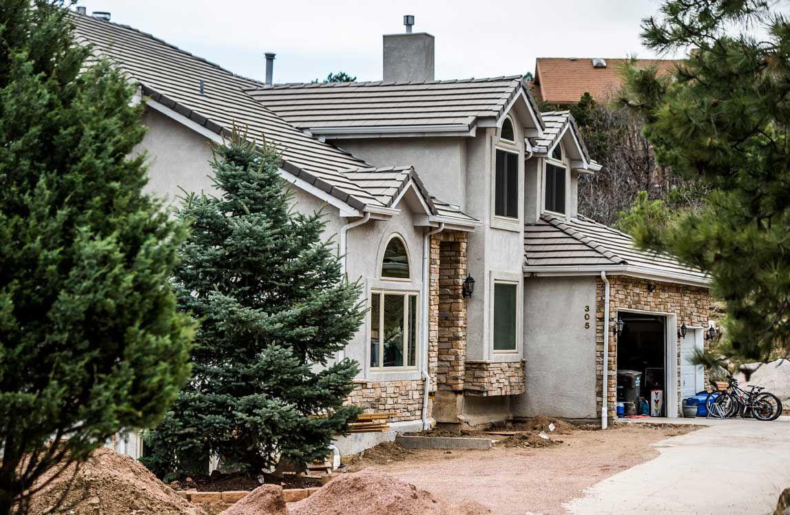 Landslides - Barker House