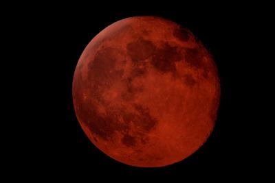 Blood Moon. File Photo. Photo Credit: GoranPetrov (iStock).