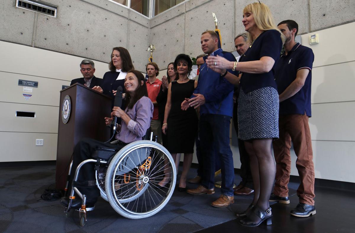 Nassar judge, Olympians back USOC oversight push in Congress