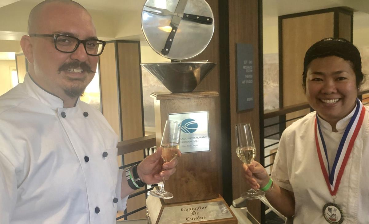 Colorado Springs chefs go whisk-to-whisk for traveling trohpy