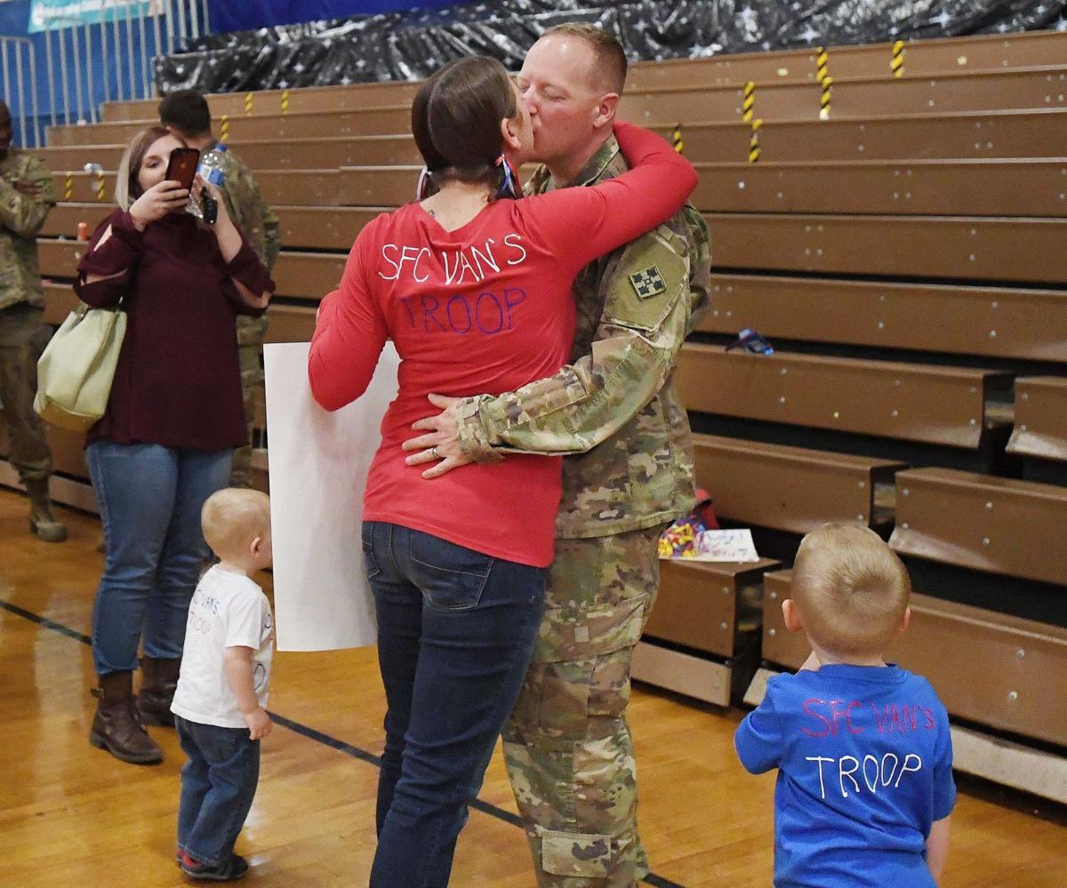 Home for the Holidays: Ft. Carson soldiers arrive home in time for Thanksgiving