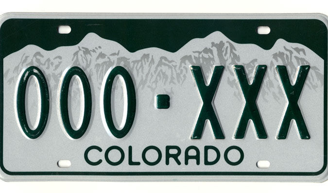 License plates in short supply at El Paso County DMV