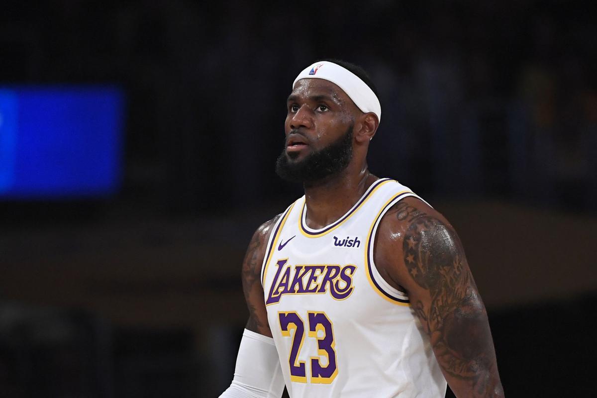 Warriors Lakers Basketball
