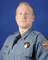 Trooper John Lewis of the Colorado State Patrol.