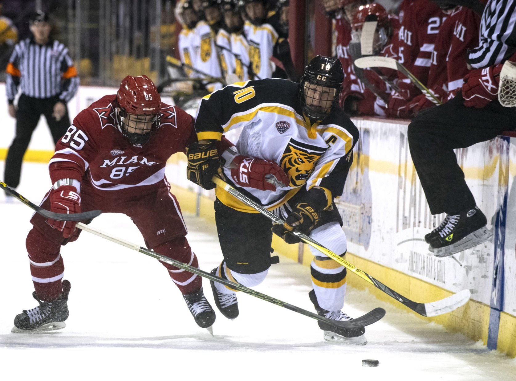 NCHC: Colorado College Hockey's Rally Try Done In By Overtime Penalty, Miami Goal