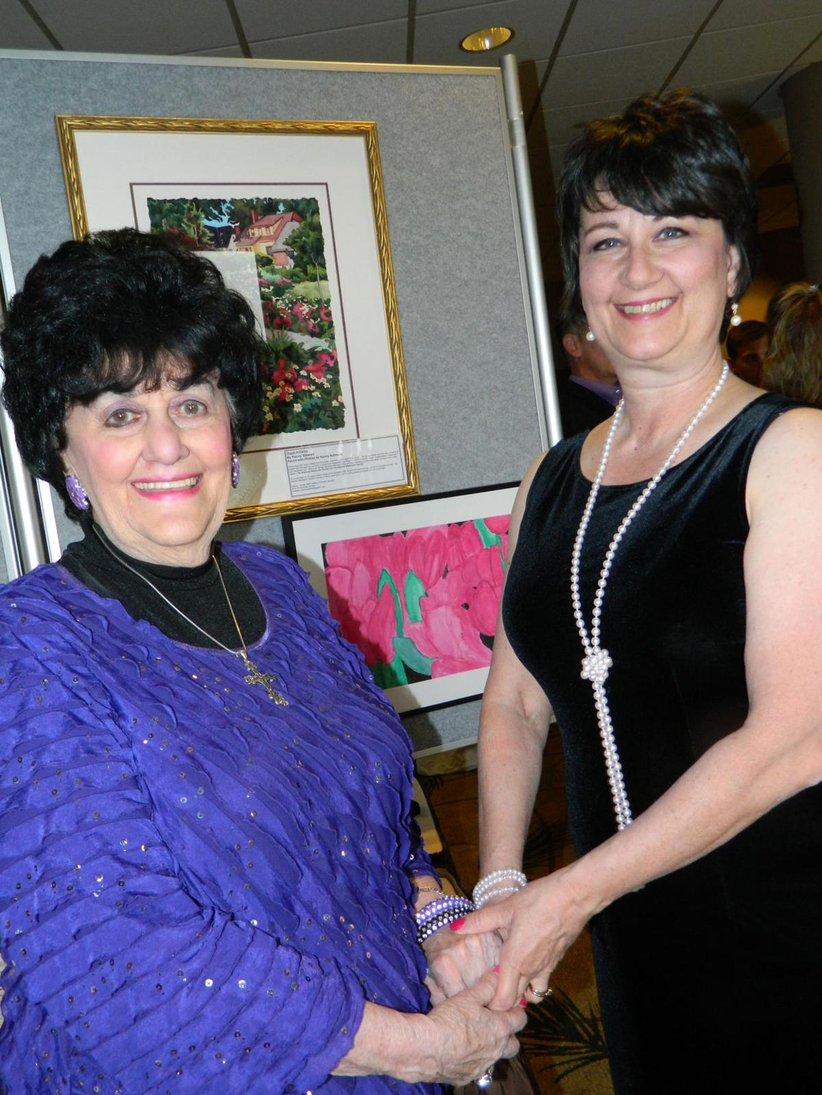 AROUND TOWN: Art as memories at the Alzheimer's Association