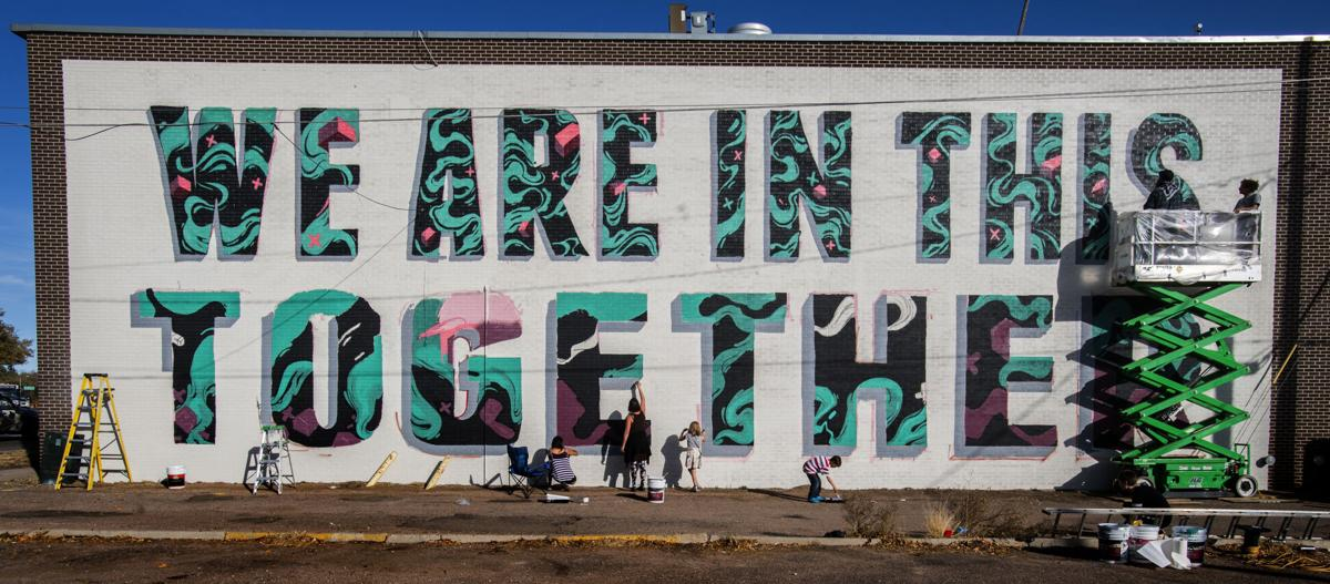Downtown Colorado Springs mural aims to get people talking about mental health