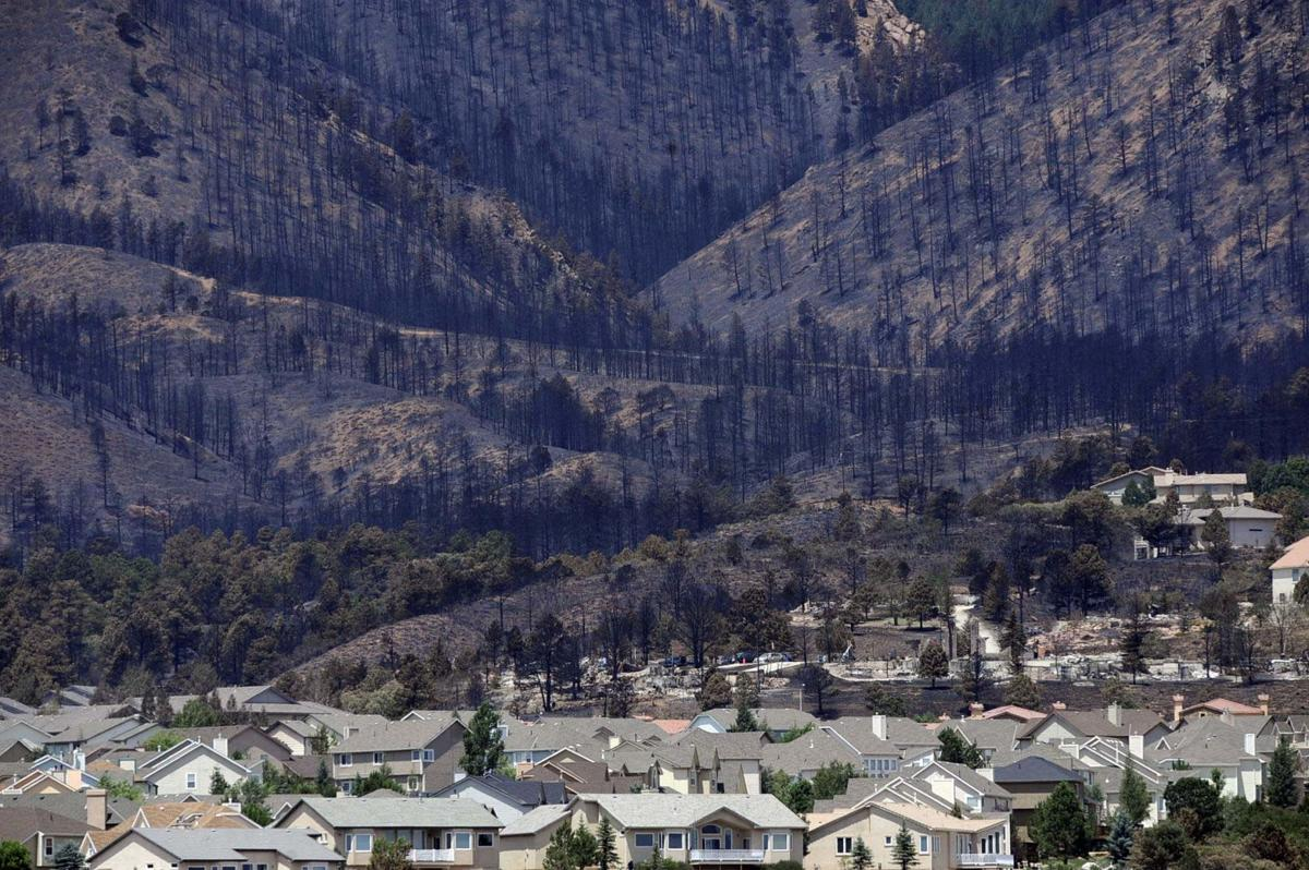 Flood, fire mitigation work around Colorado Springs will soon be complete, but land won't heal as quickly